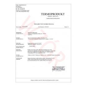 Free Manufacturer Calibration Certificate