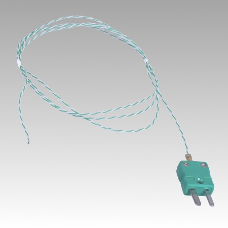 Oven PTFE Wire Thermocouple Probe ST-17 type K  (-75°C to 260°C)