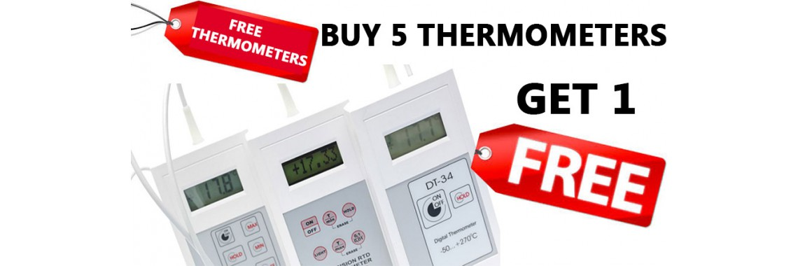 free thermometers and data loggers