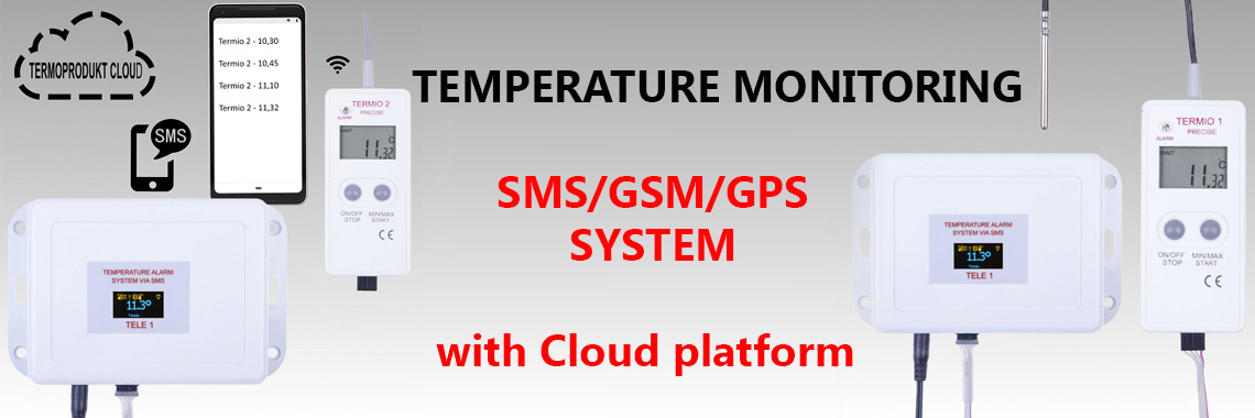 sms temperature monitoring system