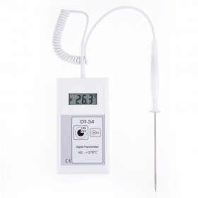 Fast and Accurate HACCP Probe Digital Thermometer DT-34 (-100°C to 270°C)