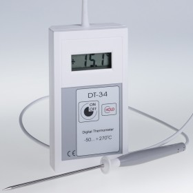 Calibrated Extended Probe 300 mm Digital Thermometer DT-34 (-100°C to 270°C)