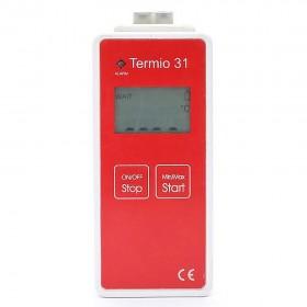 Industrial Portable Temperature Thermocouple Data Logger Termio-31